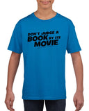Don't judge a book by its movie Black Kids T Shirt-T Shirts-Gildan-Sapphire-YXS (3-5 Year)-Daataadirect