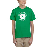 Donut worry be happy White Kids T Shirt-Daataadirect