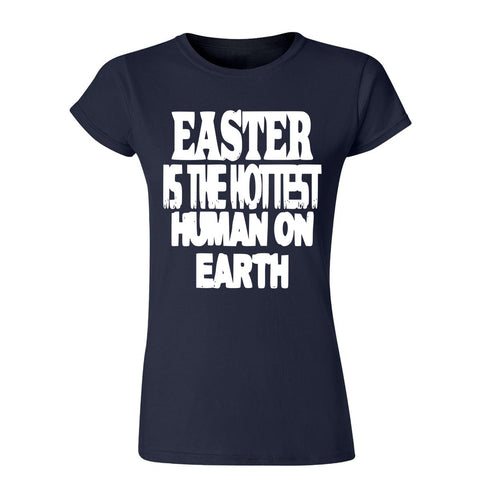 "Easter is the hottest human on earth Womens T Shirts White 04 Antique-Cherry S UK 6 Bust 32""-Gildan-Daataadirect.co.uk"