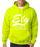 ELY Probably The Best City In The World Mens Hoodies White-Gildan-Daataadirect.co.uk