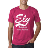 "ELY Probably The Best City In The World Mens T Shirts White-T Shirts-Gildan-Heliconia-S To Fit Chest 36-38"" (91-96cm)-Daataadirect"