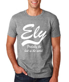 "ELY Probably The Best City In The World Mens T Shirts White-T Shirts-Gildan-Sport Grey-S To Fit Chest 36-38"" (91-96cm)-Daataadirect"