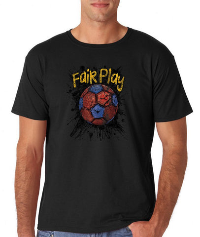 Fair Play Barcelona Football Men T Shirt-Gildan-Daataadirect.co.uk