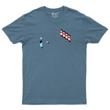 Sensible Soccer Retro Inspired Game T-Shirt-Gildan-Daataadirect.co.uk
