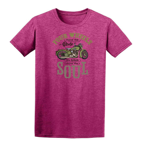 Four Wheel Move The Body Green Mens T Shirts-Gildan-Daataadirect.co.uk