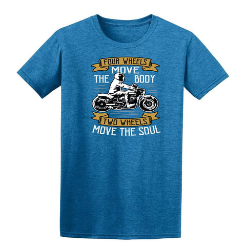 Four Wheel Move The Body White Mens T Shirts-Gildan-Daataadirect.co.uk