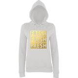 Fresh Women Hoodies Gold-AWD-Daataadirect.co.uk