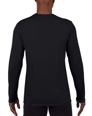 Gildan Adult Performance Long Sleeve Tee Gildan Mens Long Sleeve T-Shirts 42400-Gildan-Daataadirect.co.uk