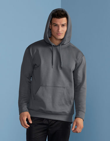 Gildan Adult Tech Hooded Sweat Gildan Mens Sweatshirts & Hoodies 99500-Hoodies-Gildan-Black-S-Daataadirect