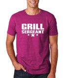 "Grill Sergeant White mens T Shirt-T Shirts-Gildan-Antique Helconia-S To Fit Chest 36-38"" (91-96cm)-Daataadirect"