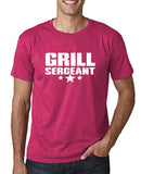 "Grill Sergeant White mens T Shirt-T Shirts-Gildan-Heliconia-S To Fit Chest 36-38"" (91-96cm)-Daataadirect"