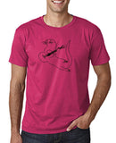 "Guitar seabird Mens T Shirts Black-T Shirts-Gildan-Heliconia-S To Fit Chest 36-38"" (91-96cm)-Daataadirect"