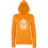 "Guns Don,t Kill Dads With Pretty Daughters Kill People Women Hoodies White-Hoodies-AWD-Orange Crush-XS UK 8 Euro 32 Bust 30""-Daataadirect"
