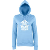 "Guns Don,t Kill Dads With Pretty Daughters Kill People Women Hoodies White-Hoodies-AWD-Sky Blue-XS UK 8 Euro 32 Bust 30""-Daataadirect"