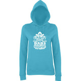 "Guns Don,t Kill Dads With Pretty Daughters Kill People Women Hoodies White-Hoodies-AWD-Turquoise Surf-XS UK 8 Euro 32 Bust 30""-Daataadirect"