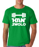 Han Swalo Men t Shirt White-Gildan-Daataadirect.co.uk