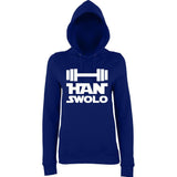 "Han Swalo Women Hoodies White-Hoodies-AWD-New French Navy-XS UK 8 Euro 32 Bust 30""-Daataadirect"
