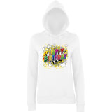 "Happy Birthday Party Colorful Women Hoodies-Hoodies-AWD-Arctic white-XS UK 8 Euro 32 Bust 30""-Daataadirect"