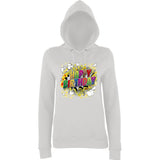 "Happy Birthday Party Colorful Women Hoodies-Hoodies-AWD-Ash-XS UK 8 Euro 32 Bust 30""-Daataadirect"