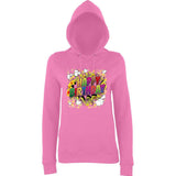 "Happy Birthday Party Colorful Women Hoodies-Hoodies-AWD-Candyfloss Pink-XS UK 8 Euro 32 Bust 30""-Daataadirect"