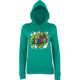 "Happy Birthday Party Colorful Women Hoodies-Hoodies-AWD-Jade-XS UK 8 Euro 32 Bust 30""-Daataadirect"