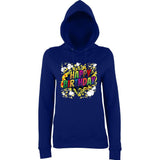 "Happy Birthday Party Colorful Women Hoodies-Hoodies-AWD-New French Navy-XS UK 8 Euro 32 Bust 30""-Daataadirect"