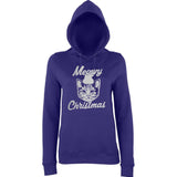Happy Christmas Merry Cheistmas Cat Women Hoodies-AWD-Daataadirect.co.uk