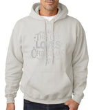 "Happy Christmas This Guy Loves Christmas Men Hoodies Silver-Hoodies-Gildan-Ash-S To Fit Chest 36-38"" (91-96cm)-Daataadirect"