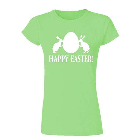 "Happy Easter Day Womens T Shirts White 03 Antique-Cherry S UK 6 Bust 32""-T-Shirt-Gildan-Antique-Cherry-S UK 6 Bust 32""-Daataadirect"
