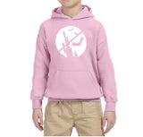 Happy Halloween Bat Kids Hoodies-Hoodies-Gildan-Light Pink-YS (5-6 Year)-Daataadirect