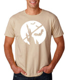 Happy Halloween Bat Men T Shirts-Gildan-Daataadirect.co.uk