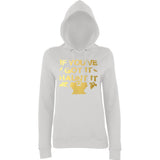 "Happy Halloween if you've got it haunt it Womens Hoodies Gold-Hoodies-AWD-Ash-XS UK 8 Euro 32 Bust 30""-Daataadirect"