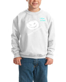 Happy Halloween jackee scary face Kids SweatShirt-Gildan-Daataadirect.co.uk