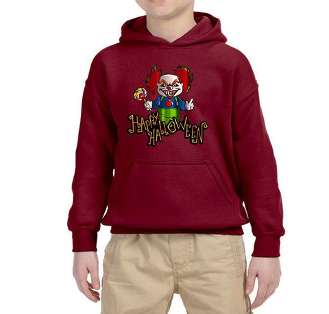 Happy Halloween Kids Hoodies-Gildan-Daataadirect.co.uk
