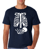 Happy Halloween Skelton xray Men T Shirts-Gildan-Daataadirect.co.uk