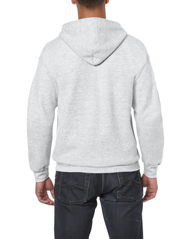Heavy Blend Adult Full Zip Hooded Sweatshirt Gildan Mens 18600-Gildan-Daataadirect.co.uk