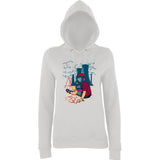 Hello Mask Guy  Women Hoodies-AWD-Daataadirect.co.uk