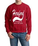HEREFORD Probably The Best City In The World Mens SweatShirt White-Daataadirect