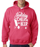 "Holiday Cheer And Beer Mens Hoodies White-Hoodies-Gildan-heliconia-S To Fit Chest 36-38"" (91-96cm)-Daataadirect"
