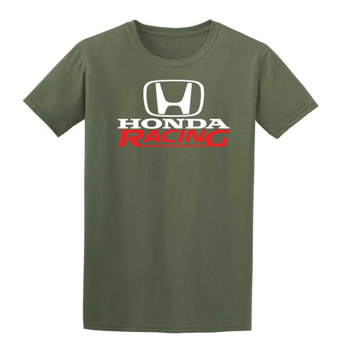 Honda Racing Mens T-Shirt-Gildan-Daataadirect.co.uk