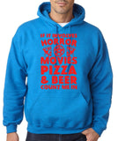 "HORROR MOVIES, PIZZA AND BEER COUNT ME IN Men Hoodie Red-Hoodies-Gildan-Antique Sapphire-S To Fit Chest 36-38"" (91-96cm)-Daataadirect"