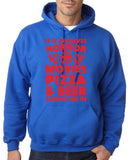 "HORROR MOVIES, PIZZA AND BEER COUNT ME IN Men Hoodie Red-Hoodies-Gildan-Royal Blue-S To Fit Chest 36-38"" (91-96cm)-Daataadirect"