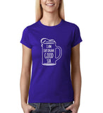 I am day drunk good sir White Womens T Shirt-Gildan-Daataadirect.co.uk