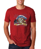 "I am Just a Pirate of Carribean Men T Shirt-T Shirts-Gildan-Antique Cherry-S To Fit Chest 36-38"" (91-96cm)-Daataadirect"