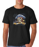 "I am Just a Pirate of Carribean Men T Shirt-T Shirts-Gildan-Black-S To Fit Chest 36-38"" (91-96cm)-Daataadirect"