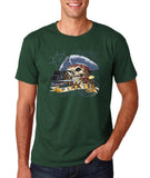 "I am Just a Pirate of Carribean Men T Shirt-T Shirts-Gildan-Forest green-S To Fit Chest 36-38"" (91-96cm)-Daataadirect"