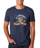 "I am Just a Pirate of Carribean Men T Shirt-T Shirts-Gildan-Heather navy-S To Fit Chest 36-38"" (91-96cm)-Daataadirect"