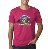 "I am Just a Pirate of Carribean Men T Shirt-T Shirts-Gildan-Heliconia-S To Fit Chest 36-38"" (91-96cm)-Daataadirect"