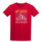 I Am Not Perfect But I Can Still Ride A Motorcycle Mens T Shirts-Gildan-Daataadirect.co.uk