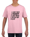 I don't need therapy Black Kids T Shirt-T Shirts-Gildan-Light Pink-YXS (3-5 Year)-Daataadirect